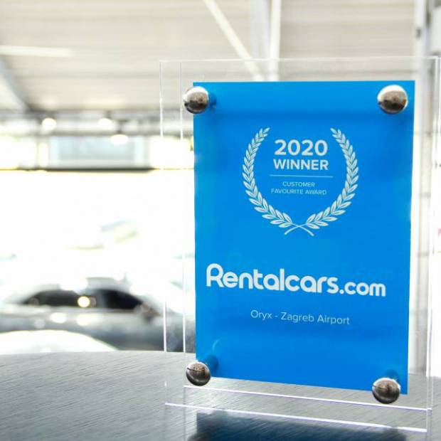 ORYX Rent a car wins award for the highest quality of service!